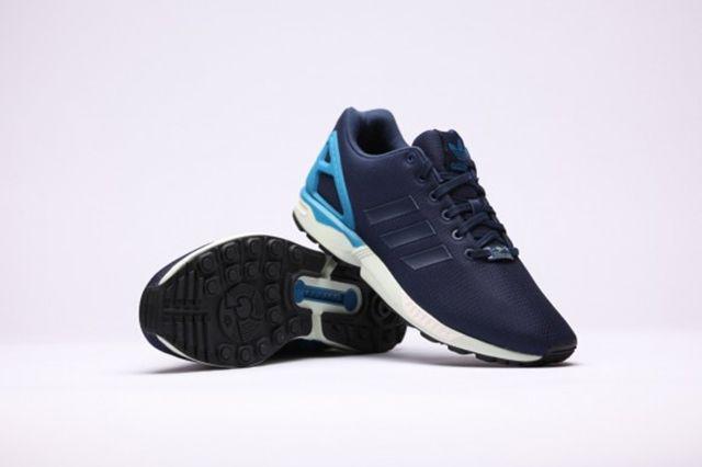 Adidas Zx Flux Dark Blue Dark Blue Hero Blue 3