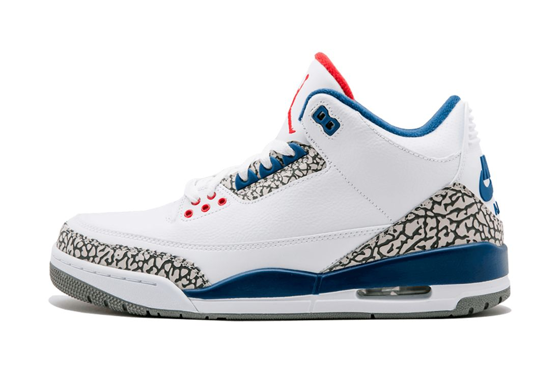 True Blue Air Jordan 3 Best Feature