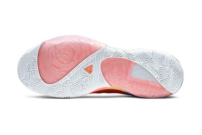 Nike Zoom Freak 1 Total Orange Bq5422 800 Release Date Outsole