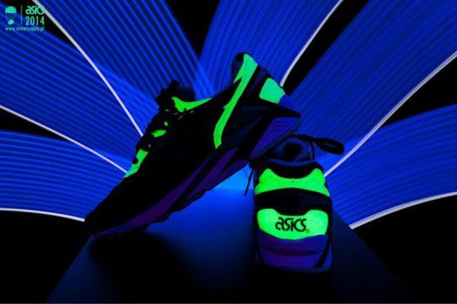 Glow In The Dark Asics 4
