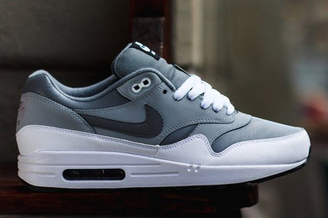 Nike Air Max 1 Leather Cool Grey Wolf Grey 2