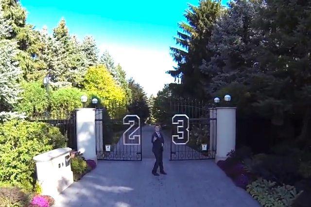Video Tour Michael Jordan Mega Compound 12