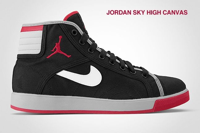 Jordan Sky High Canvas 1
