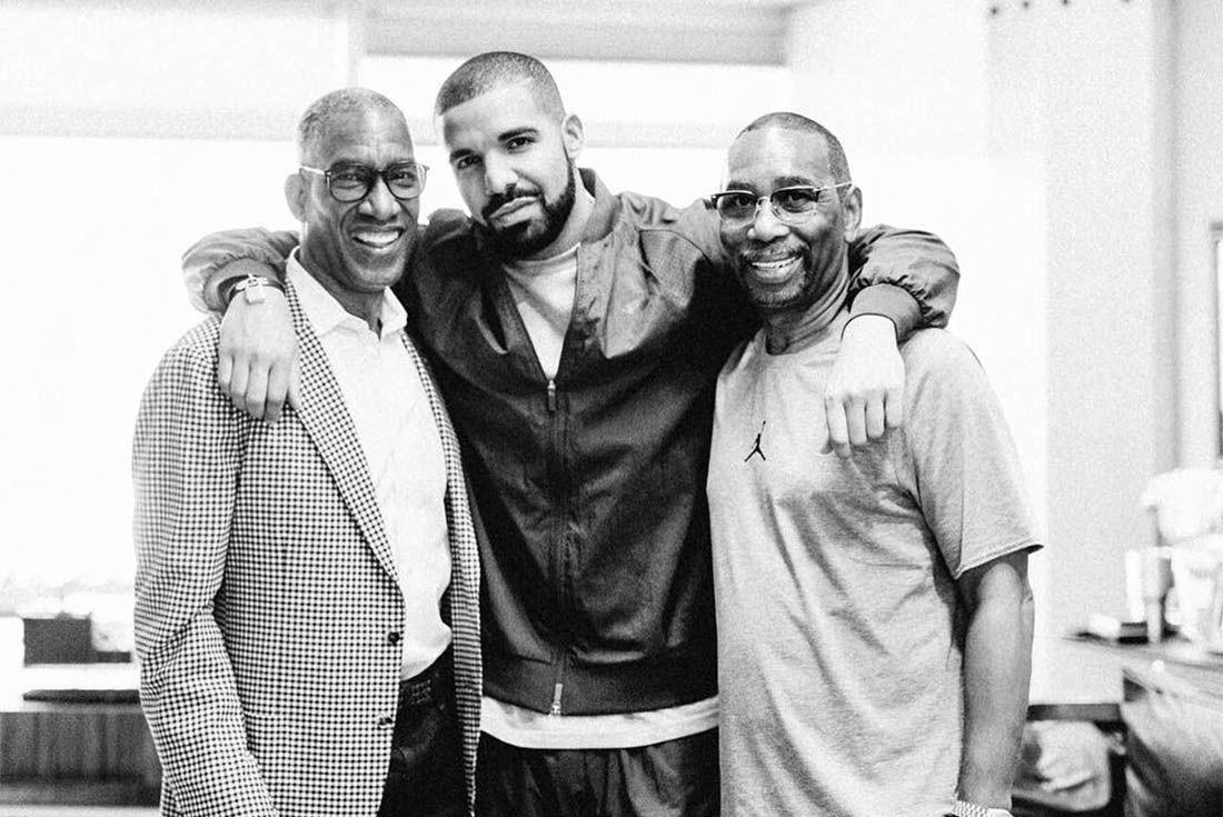 Drake Meets Nike Execs 4