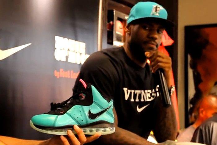 Nike Lebron 8 South Beach 2