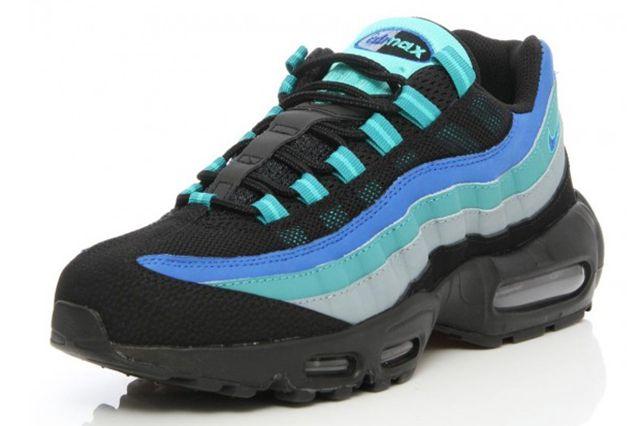 Nike Air Max 95 Black Hyper Cobalt 2 E1411417671266 580X450