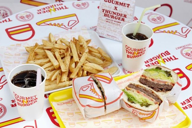 Gourmet Thunder Burger Korea 6 1