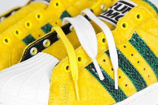 Adidas Ultrstar 80S Yellow Green 5
