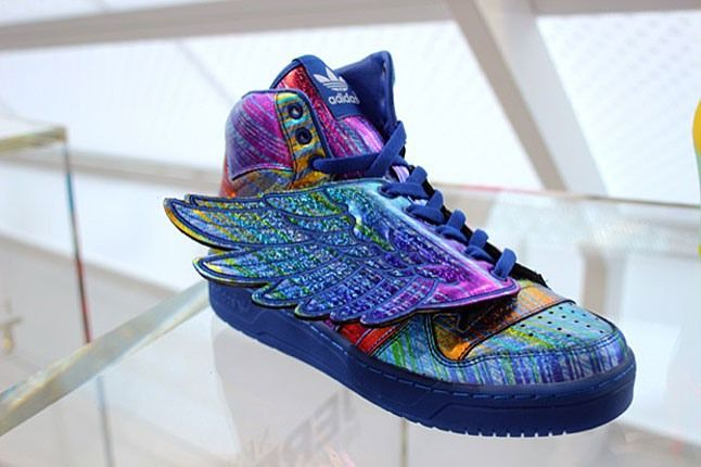 Adidas Jeremy Scott Rainbow Holograph 1 1