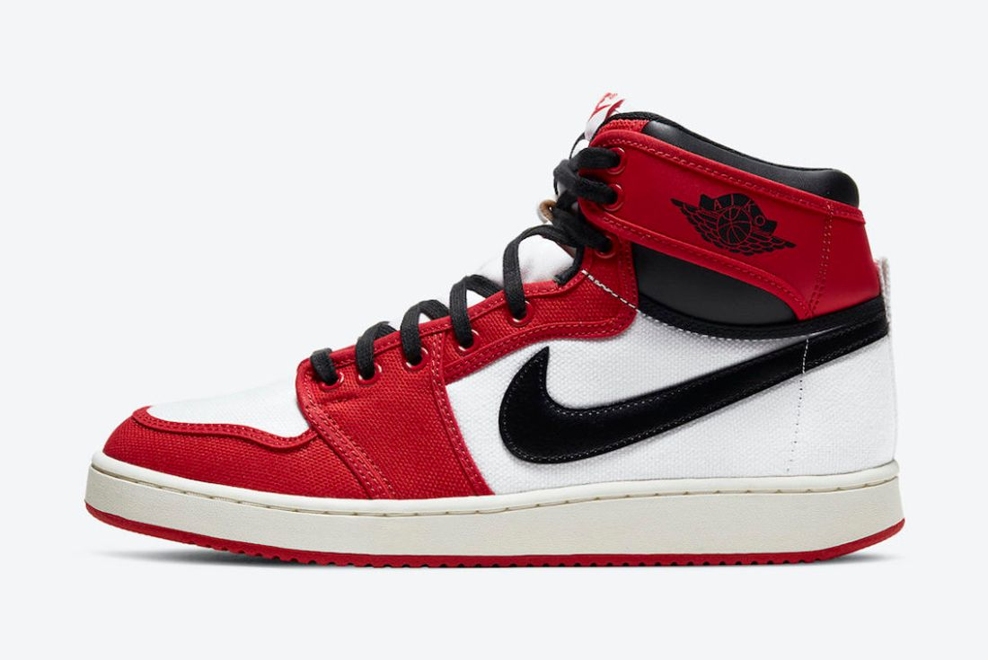 air jordan 1 KO chicago official pics on white