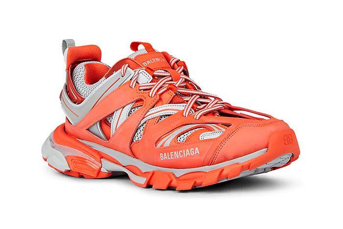 Balenciage Track Sneaker Orange Front