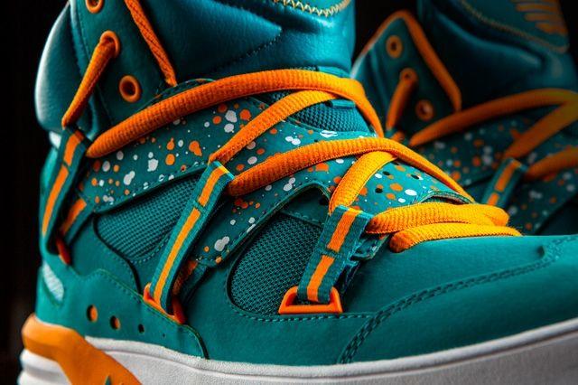 Adidas Og Roundhouse Instinct Teal Midfoot Detail
