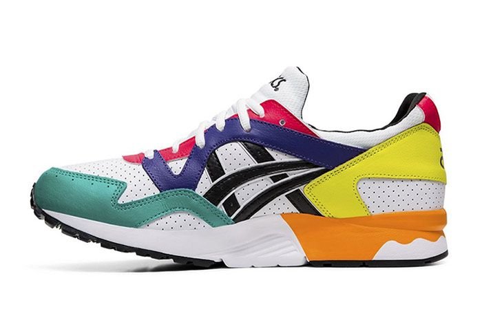 Asics Gel Lyte V Multi Color Leather Left