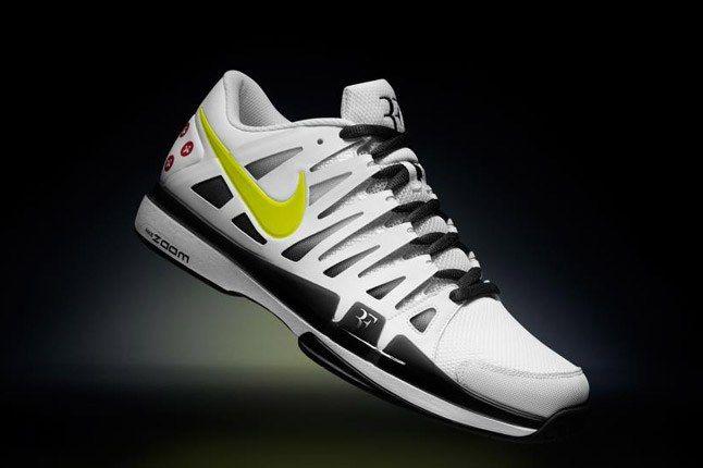 Nikeid Roger Federer Vote Zoom Vapor 9 Yellow Black 1