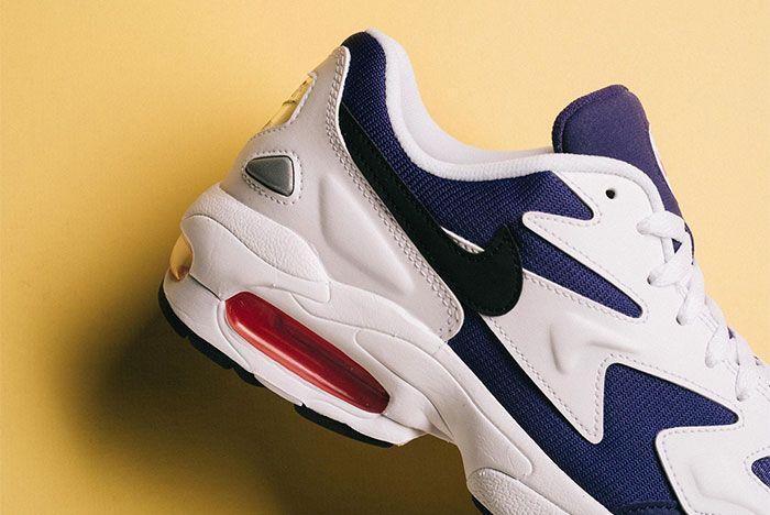 Nike Air Max 2 Light Court Purple Side