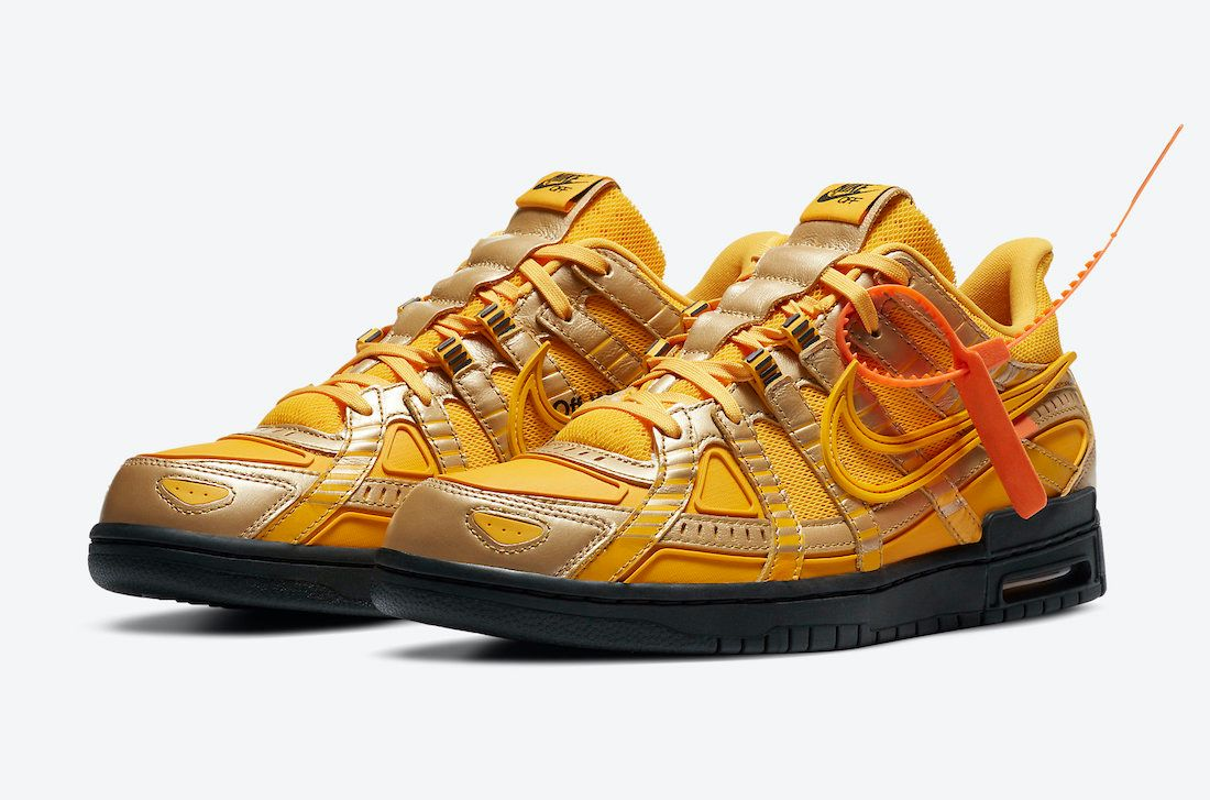 Off-White Nike Air Rubber Dunk 'University Gold'