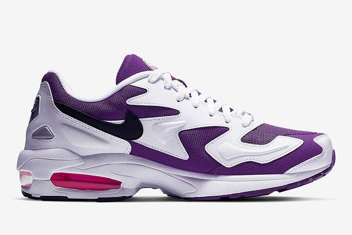 Nike Air Max2 Light Purple Right