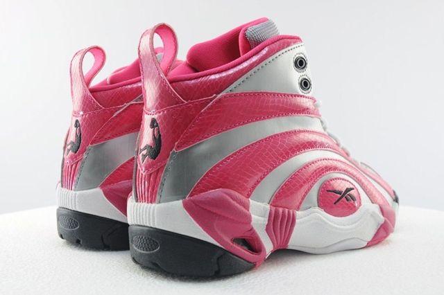 Reebok Shaqnosis Pink Silver 3