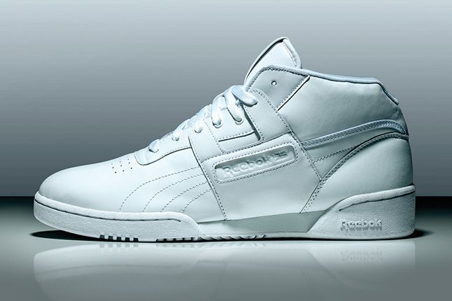 Reebok Classics White Collection Workout Mid 1