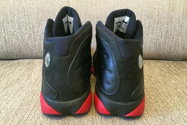 Air Jordan 13 Black Red 5