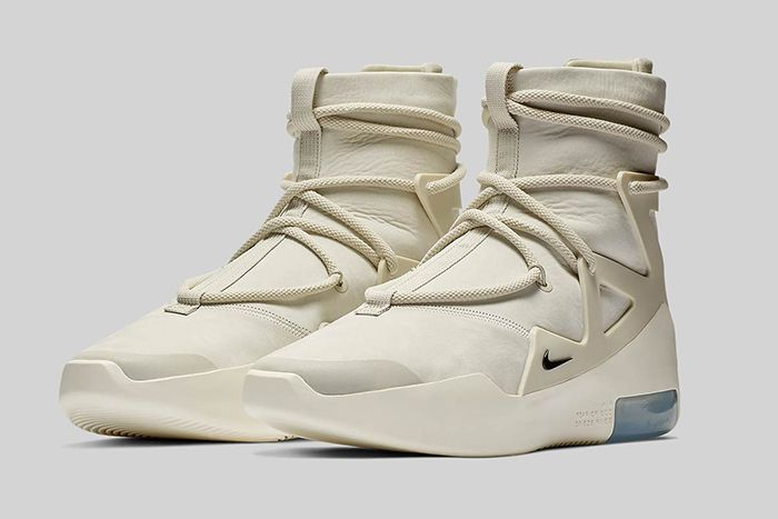 Nike Air Fear Of God 1 Light Bone Official 1