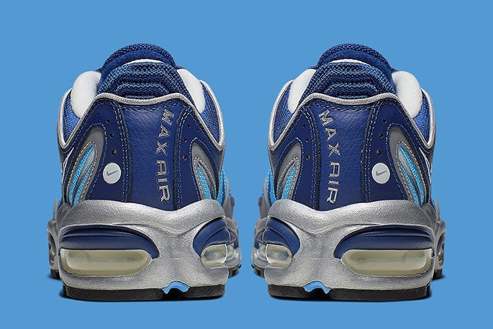 Nike Air Max Tailwind 4 Blue Silver Aq2567 401 Heels