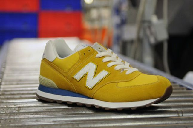 New Balance 574 Pack Size Exclusive Yellow 1