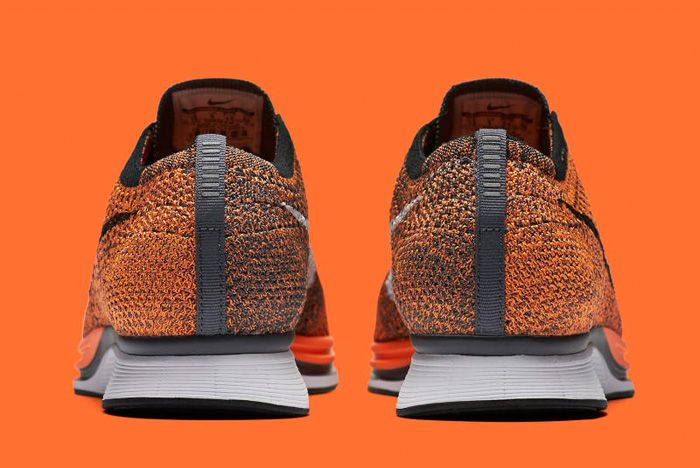 Nike Flyknit Racer Orange 3