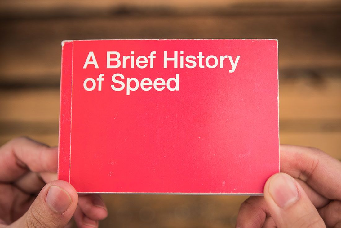Nike A Brief History Of Speed Book Cover