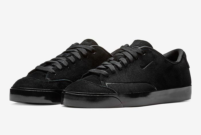 Nike Blazer City Low Xs Triple Black 1