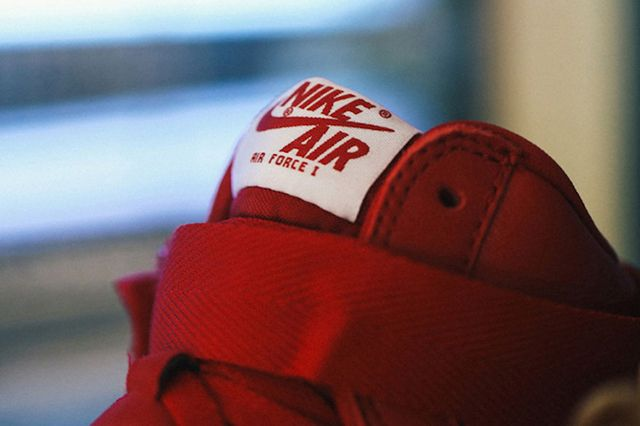 Nike Air Force 1 High Nai Ke Gym Red Preview 2