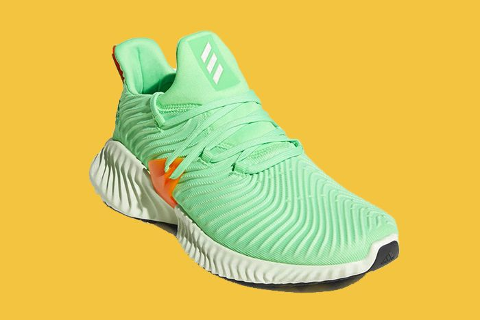 Adidas Alphabounce Instinct Grey Shock Lime Release Date 002 Sneaker Freaker