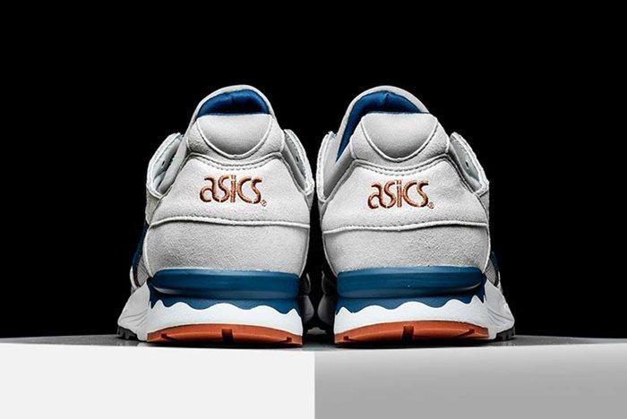 Asics Gel Lyte V Blue White Orange Pack 09