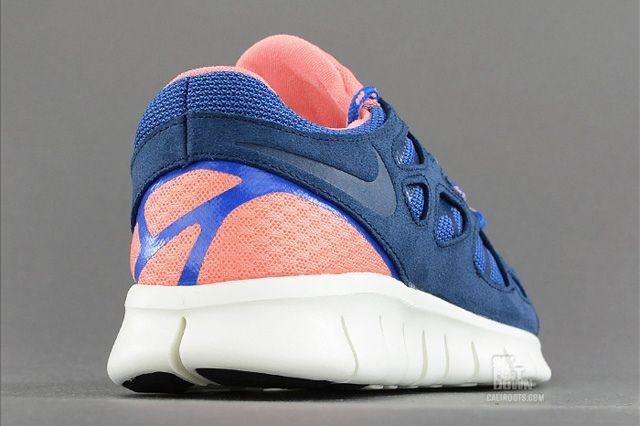 Nike Free Run 2 Brave Blue Atomic Pink 3