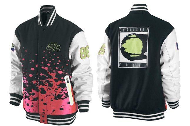 Nike Challenge Court Varsity Jacket 1