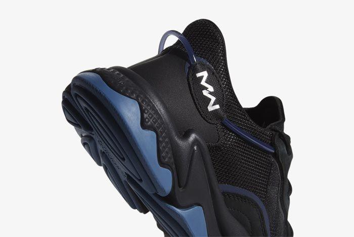 Pusha T Adidas Ozweego Cod Heel