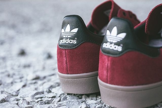 Adidas Stan Smith Vulcanised Burgundy Bumperoo 2