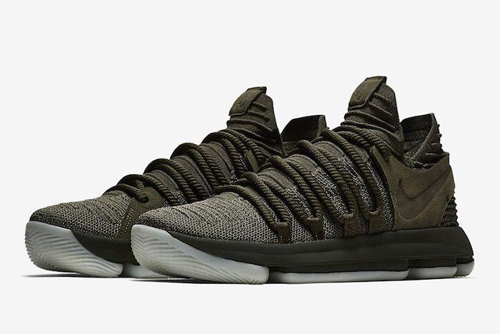 Nike Zoom Kd 10 Olive Green 7