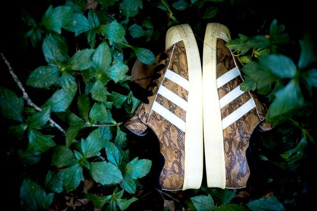 Adidas Superstar 80S Woodland Camo 6