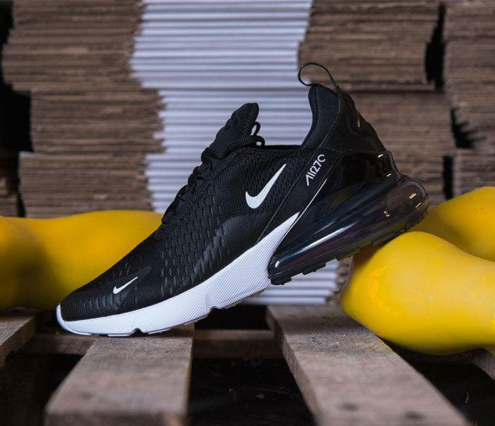 Nike Air Max 270 Black White 5