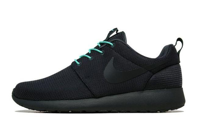 Nike Roshe Run 2Face Teal Profile 1