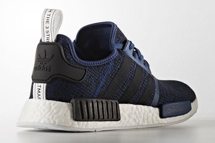 Adidas Nmd R1 March 2017 Blue Black By2775 2