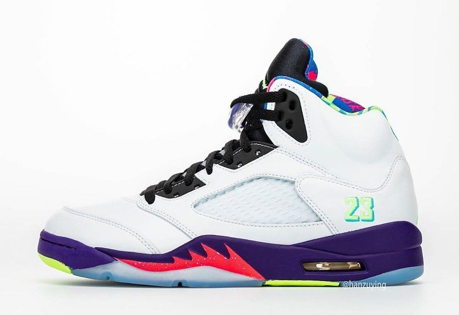 Air Jordan 5 Alternate Bel-Air Left