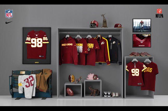 Nike Nfl Fanwear Wash Redskins 2012 1