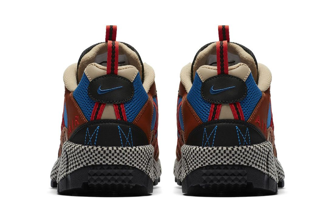 Nike Air Humara Red Blue Brown 9