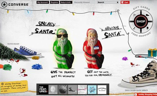 Converse Presents Sneaky Vs Obvious Santa 1