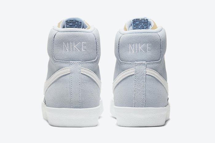 Nike Blazer Mid 77 Hydrogen Blue Heels