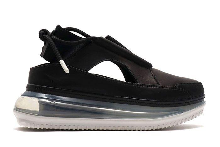 Nike Air Max Ff 720 Womens Black Lateral