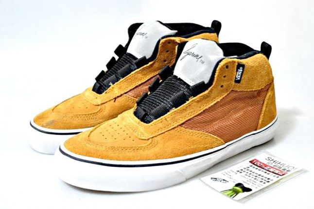 Supreme X Mike Carroll Mustard Yellow X Vans 1