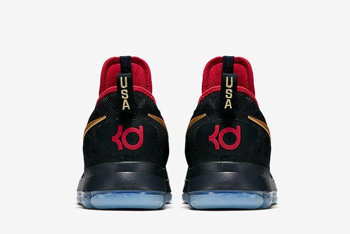 Nike Zoom Kd 9 Dark Obsidian Gold Olympic 2